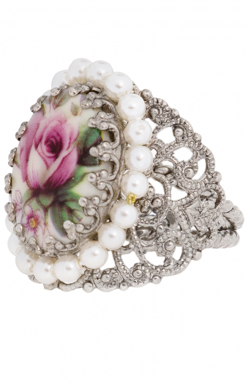 Ring ornament R801 rose