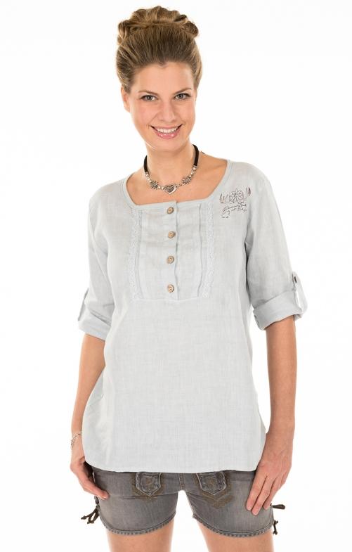 Traditional blouse MERIDA-Tgray