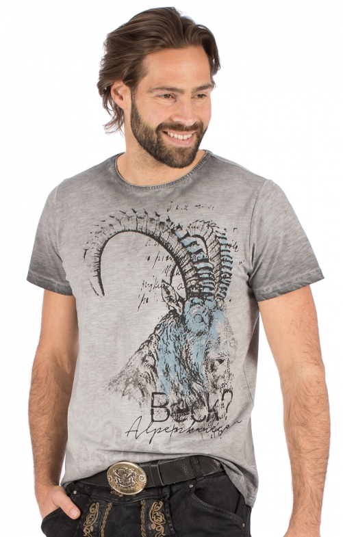 Costumes T-Shirt RUDI gray