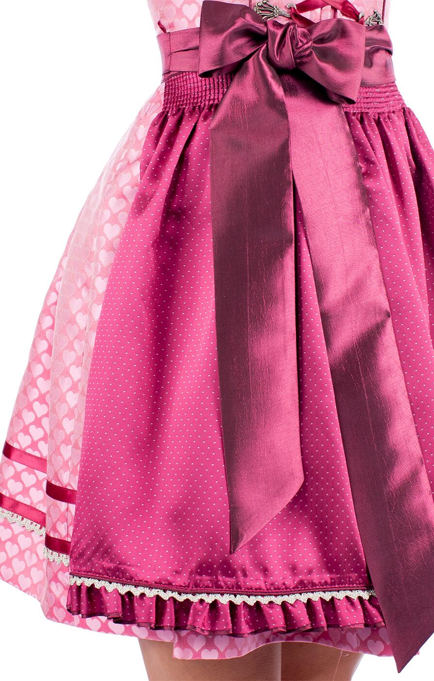weitere Bilder von Mini Dirndl 2pcs. 42775-35 pink 50cm