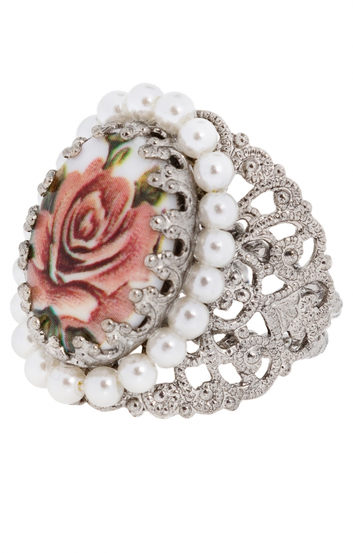 Ring ornament R801 salmon