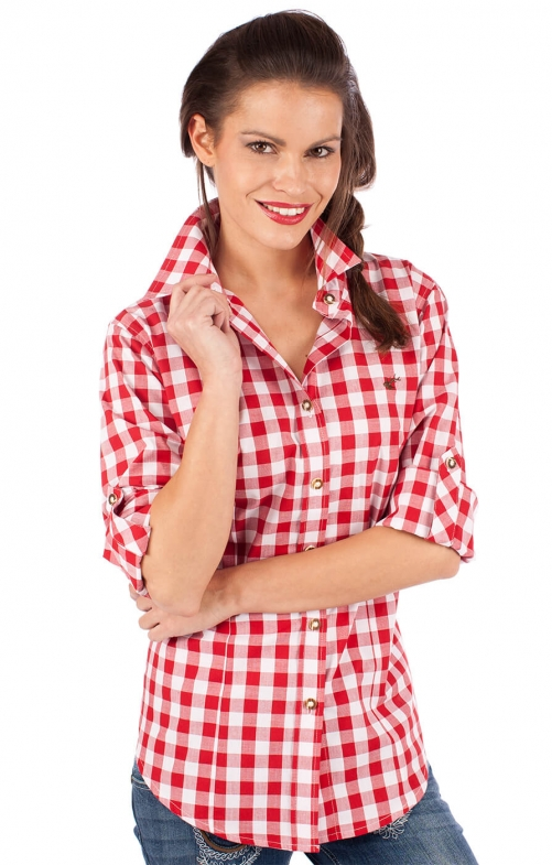 Traditional blouse 950000-3052-34 red