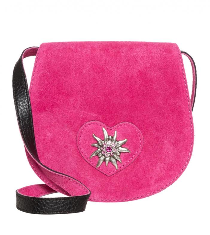 Traditional dirndl bag TA30340-9196 pink