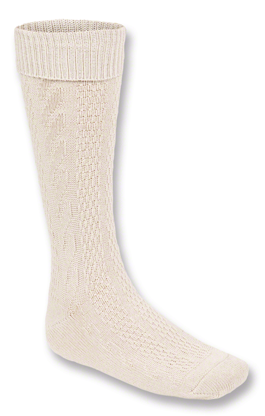 Traditional knee socks 54060D nature von Stockerpoint