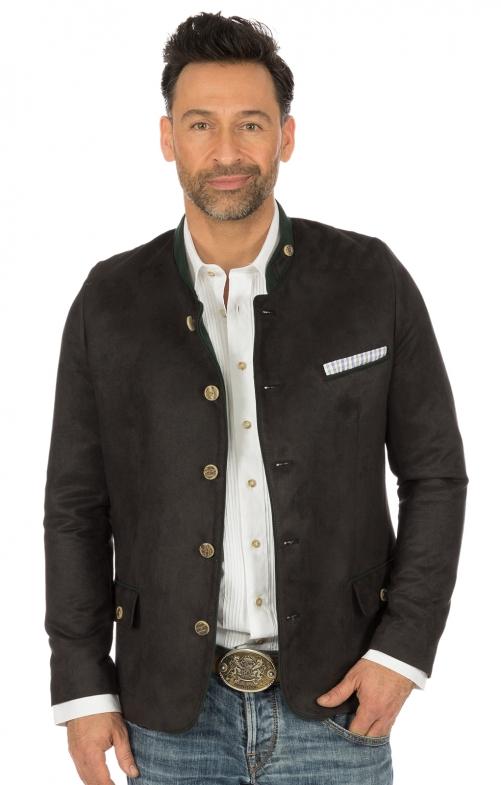 German traditional jacket HOCHKÖNIG anthracite