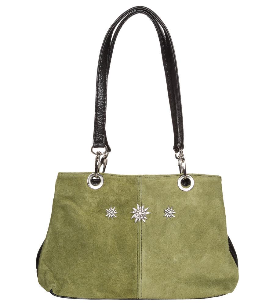 Traditional dirndl bag TA30200-EDW oliv von Schuhmacher