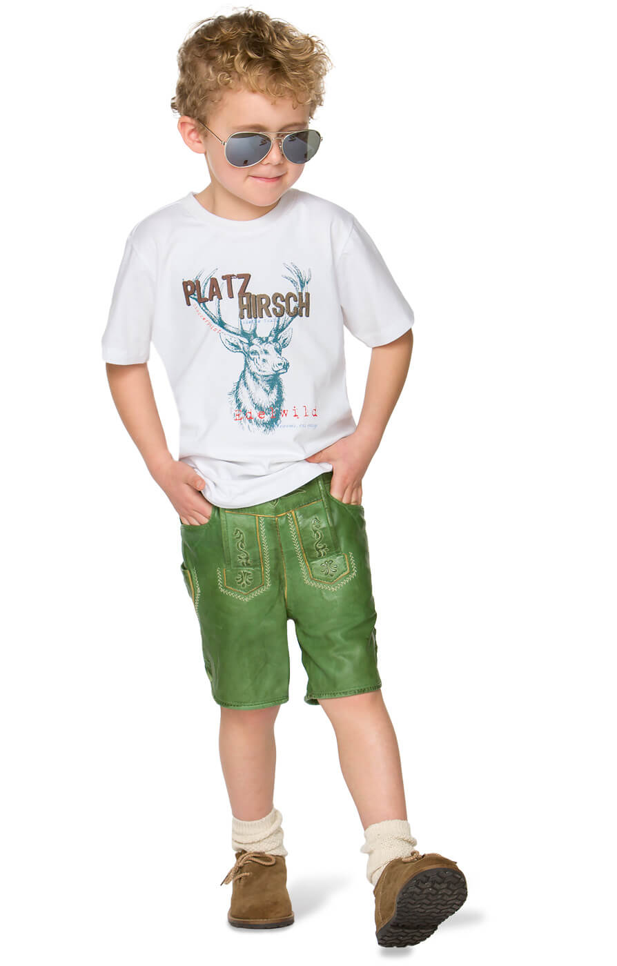 weitere Bilder von Children traditional t-shirt Hansi white