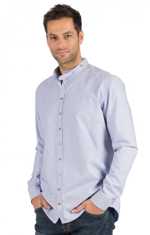 German traditional shirt CHRISTIAN blue