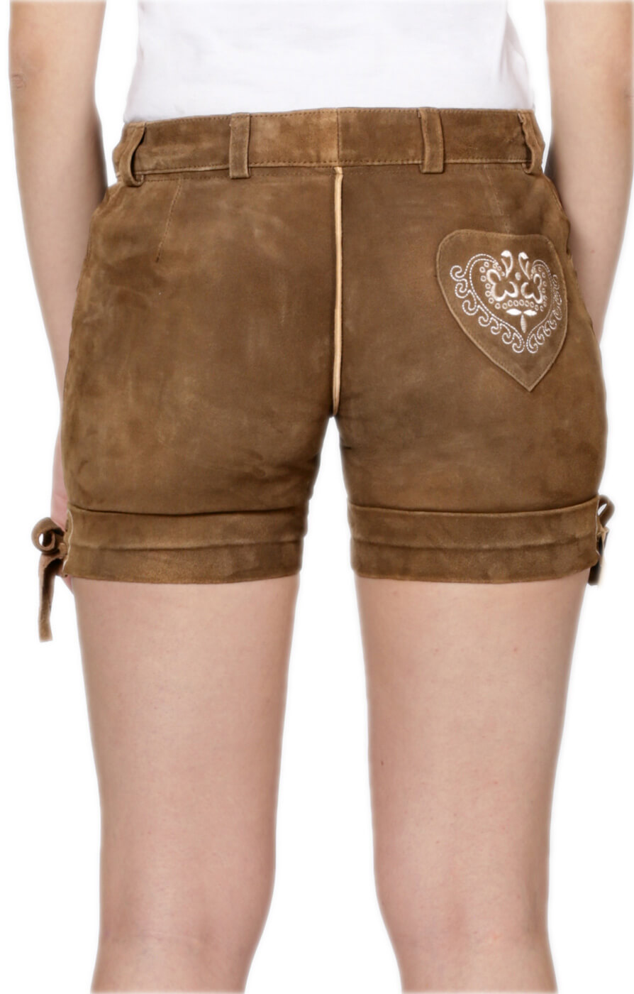 weitere Bilder von Traditional leather pants short Elfi lightbrown