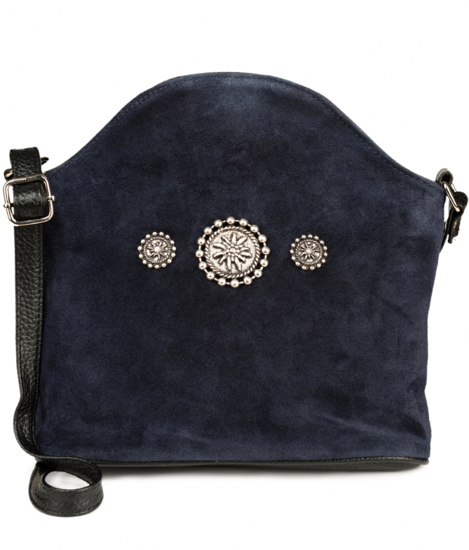 Traditional bag Edelweiss TA30910-7820-1-3 blue