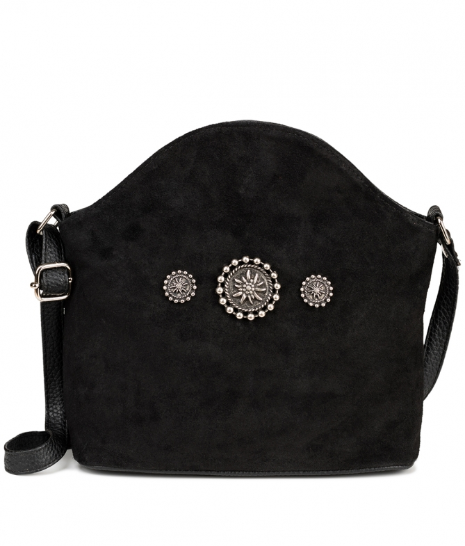 Traditional bag Edelweiss TA30910-7820-1-3 black