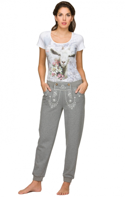 Traditional trousers SHELLY grey