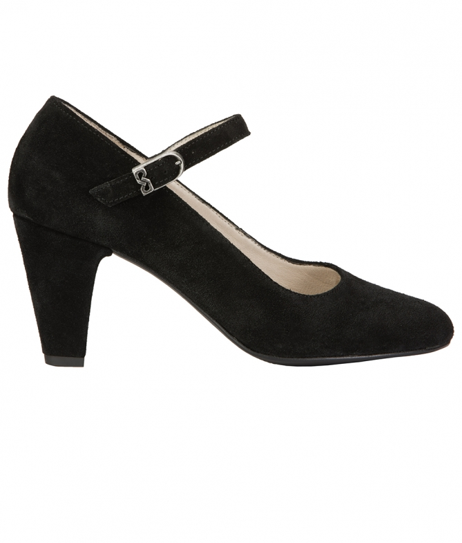 Traditional shoes 6055 black
