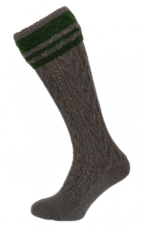 Traditional knee socks 54080 anthracite