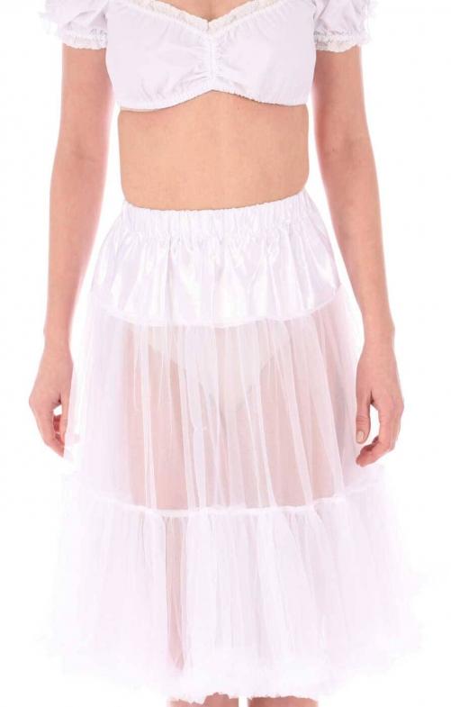 German traditional petticoat 75cm creme