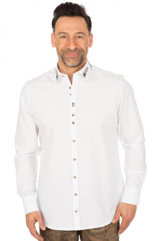 German traditional shirt CLASSICO white