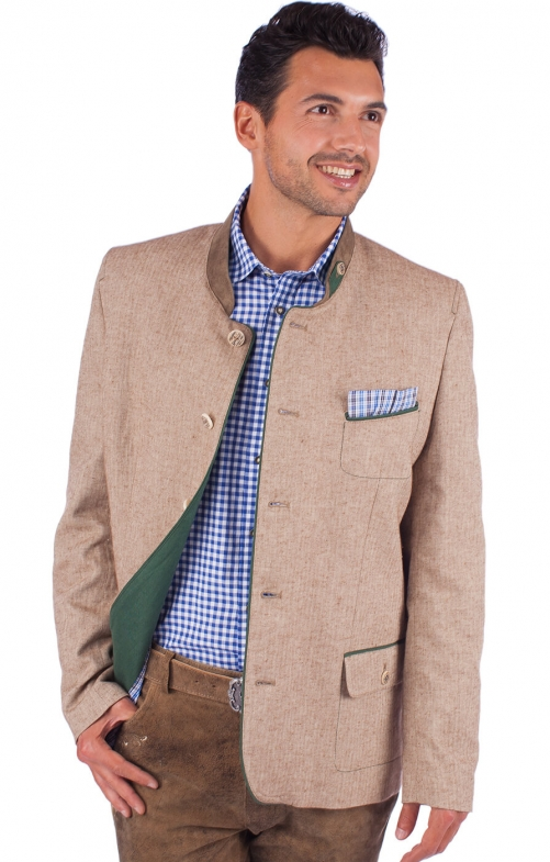 German traditional jacket WEISSHORN beige