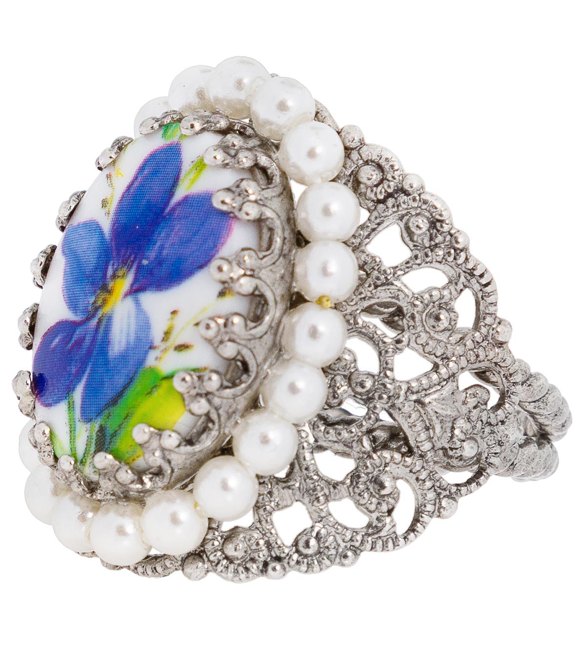 Ring ornament R801 blue von Schuhmacher