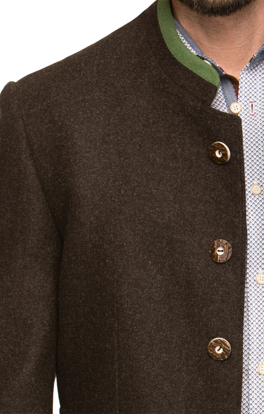 weitere Bilder von German traditional jacket MAXIMILIAN brown