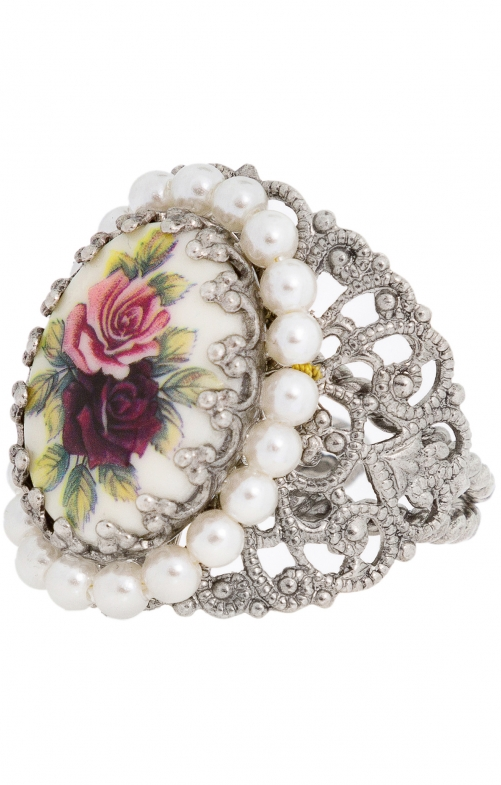Ring ornament R801 rot