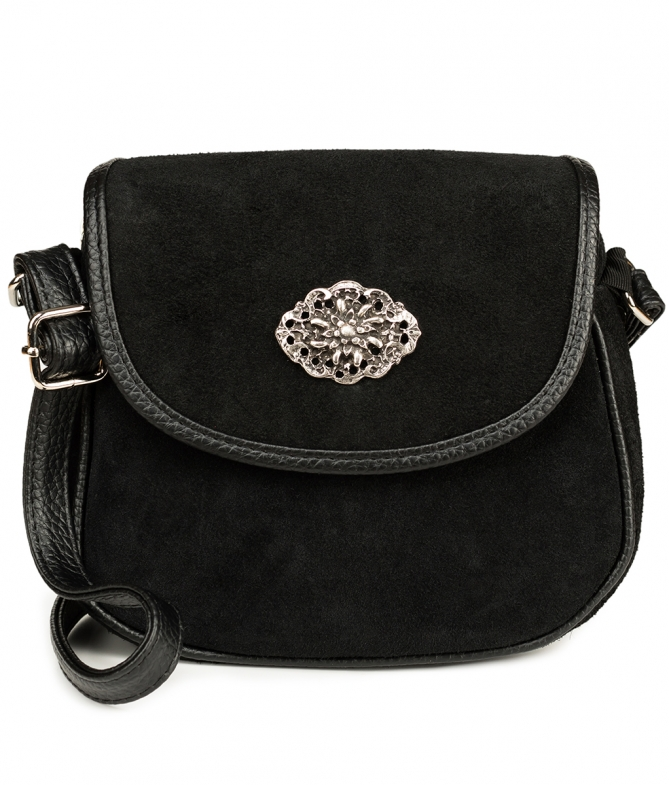 Traditional leather bag TA3000-8584 black