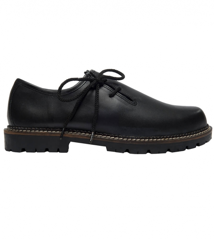 Traditional oktoberfest brogues 1224 black