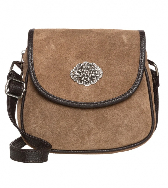 Traditional dirndl bag TA3000-8584 greybrown