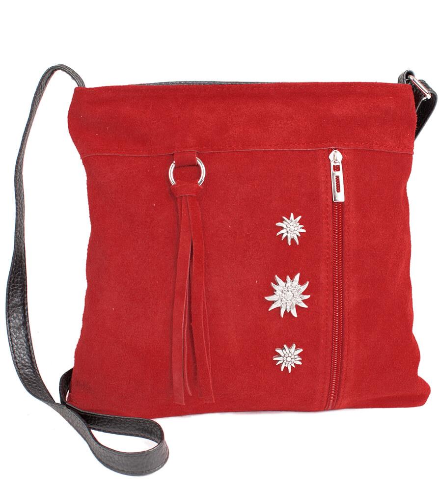 Traditional dirndl bag TA30300-3, red von Schuhmacher