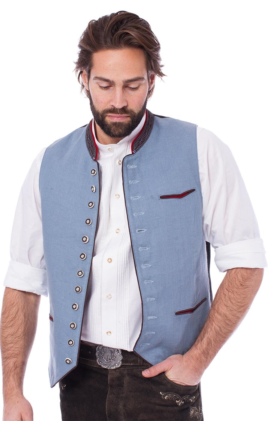 weitere Bilder von Traditional waistcoat CAMILLO-HK-icebrown