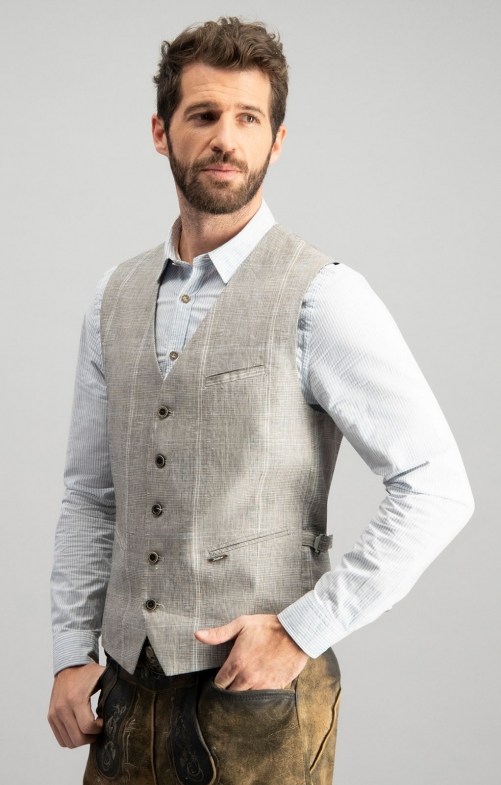 Tradition vest BOSKO beige