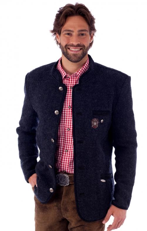 traditional jacket outdoor Birgel WJ grey black