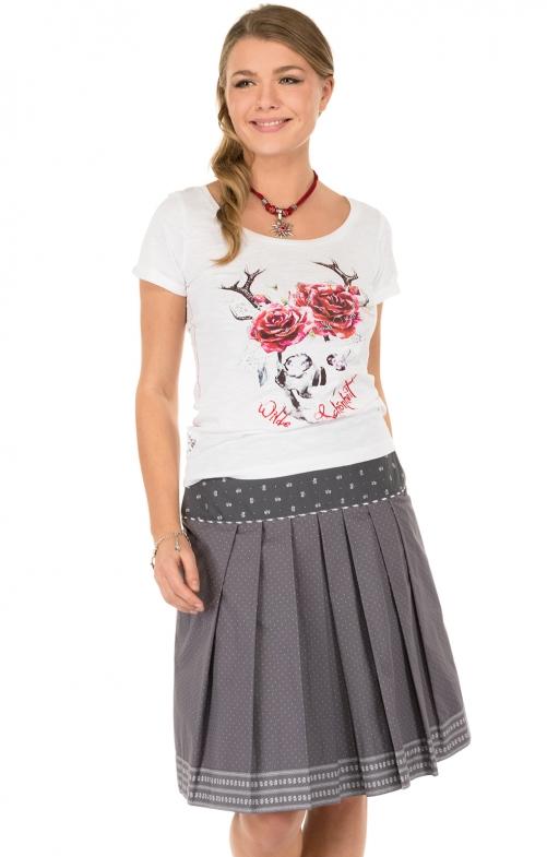 Traditional skirt gray