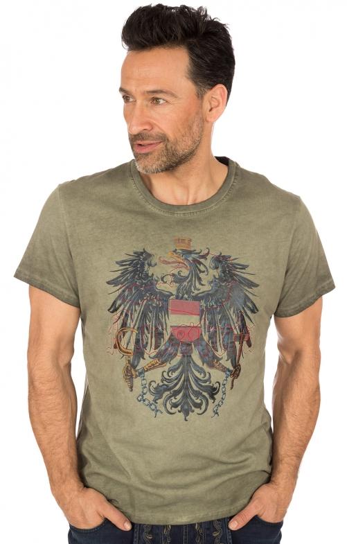 Traditional German T-Shirt brown