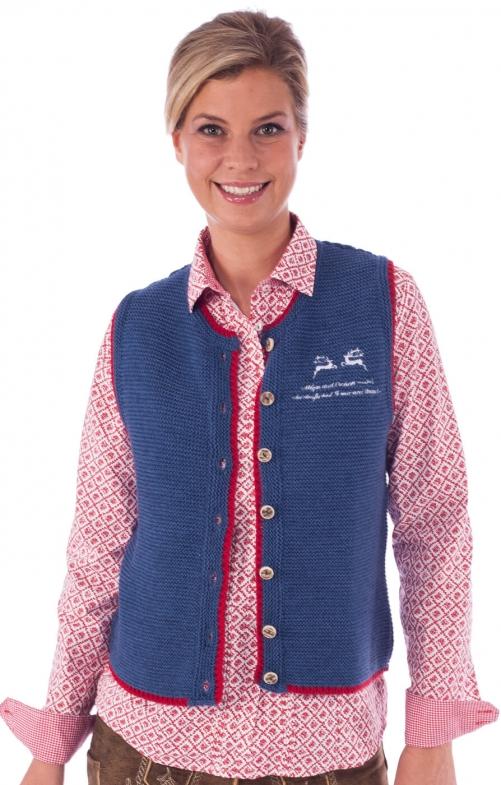 Traditional Jacket Genna blue
