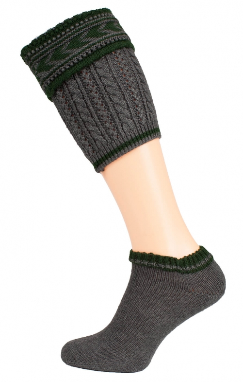 Loferl set with socks 36012 gray/forest