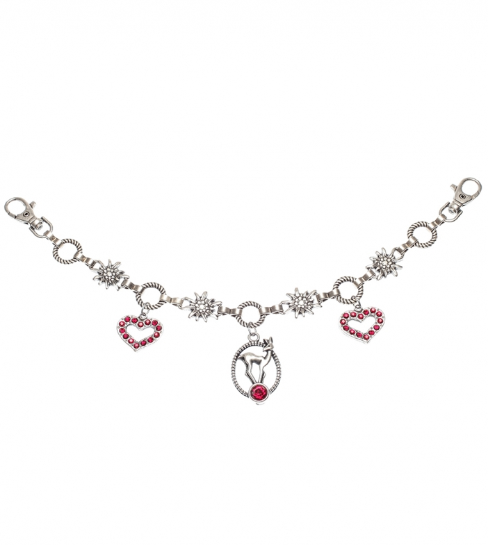 Charivari CH1413-9534 deer and heart red