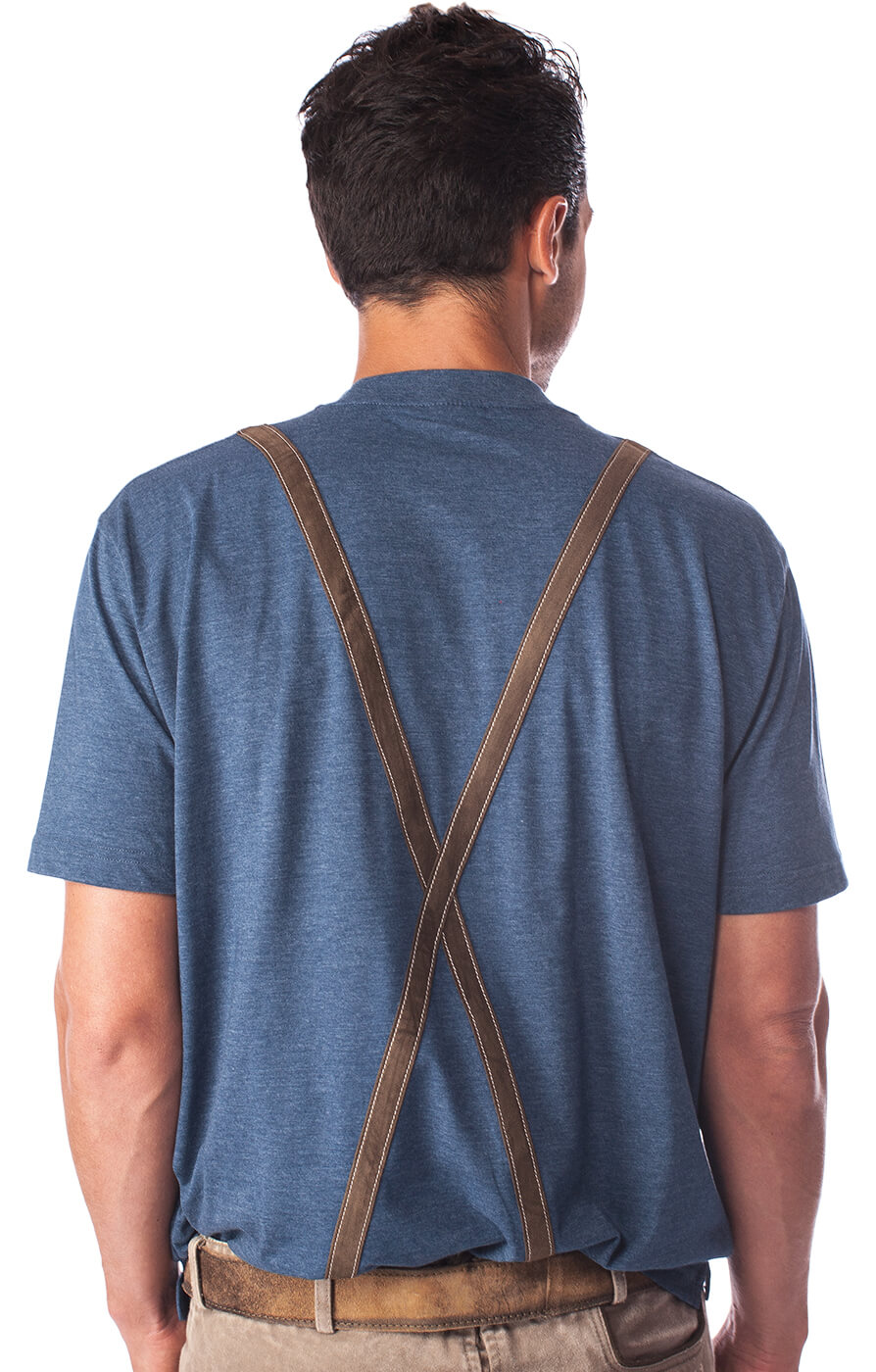 weitere Bilder von Traditional German T-Shirt 928001-3460-42 blue