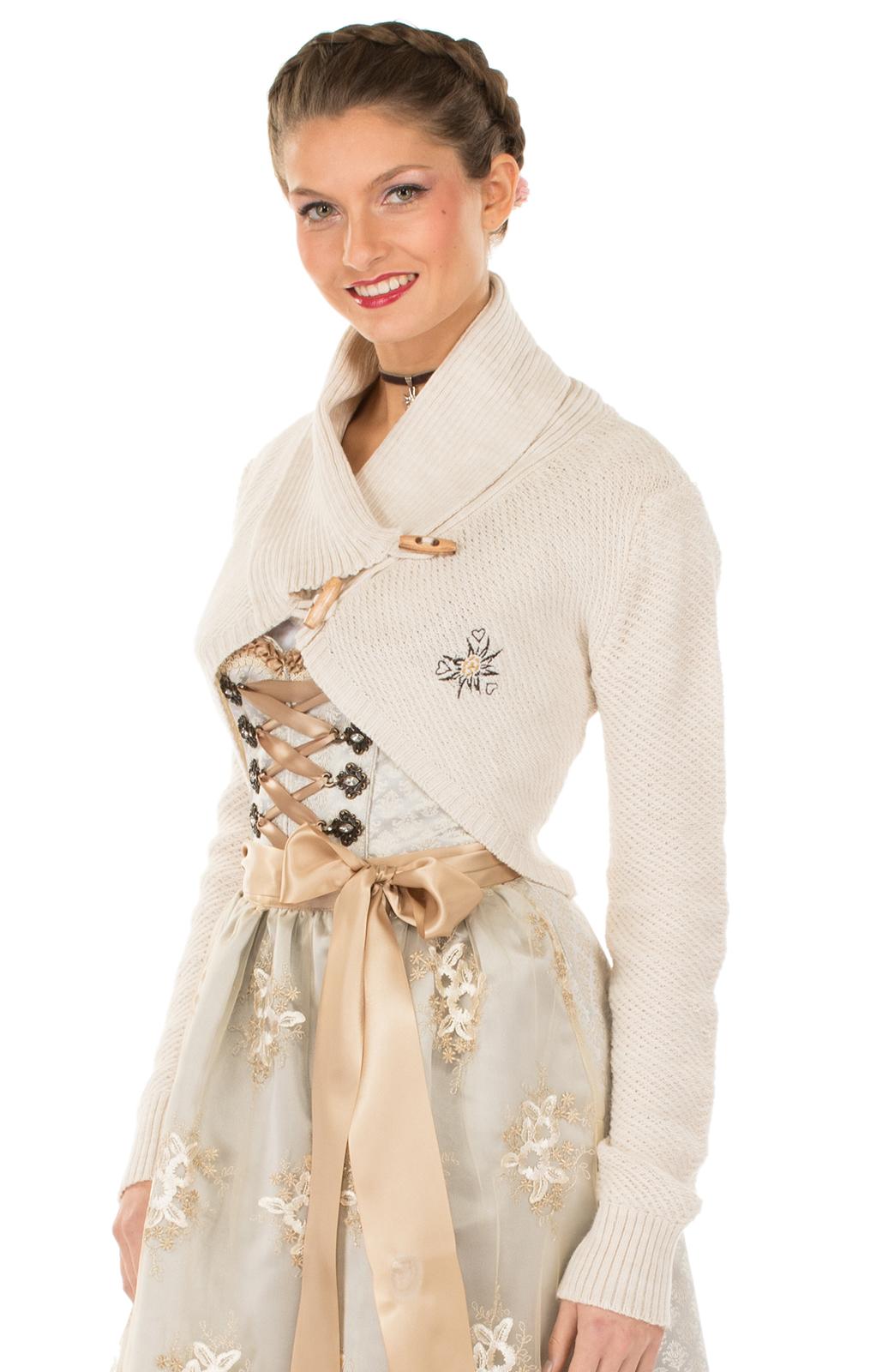 Trachten Jacket Bolero white von Hangowear