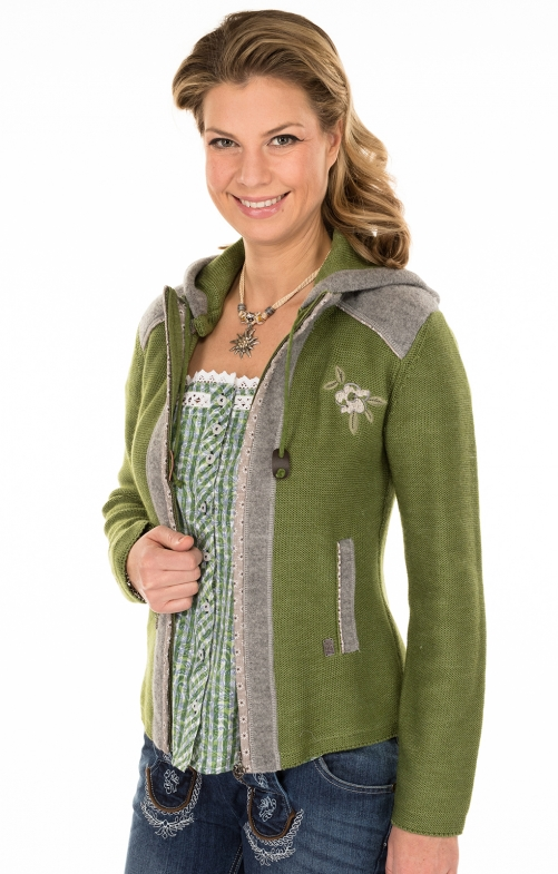 Traditional Cardigan green