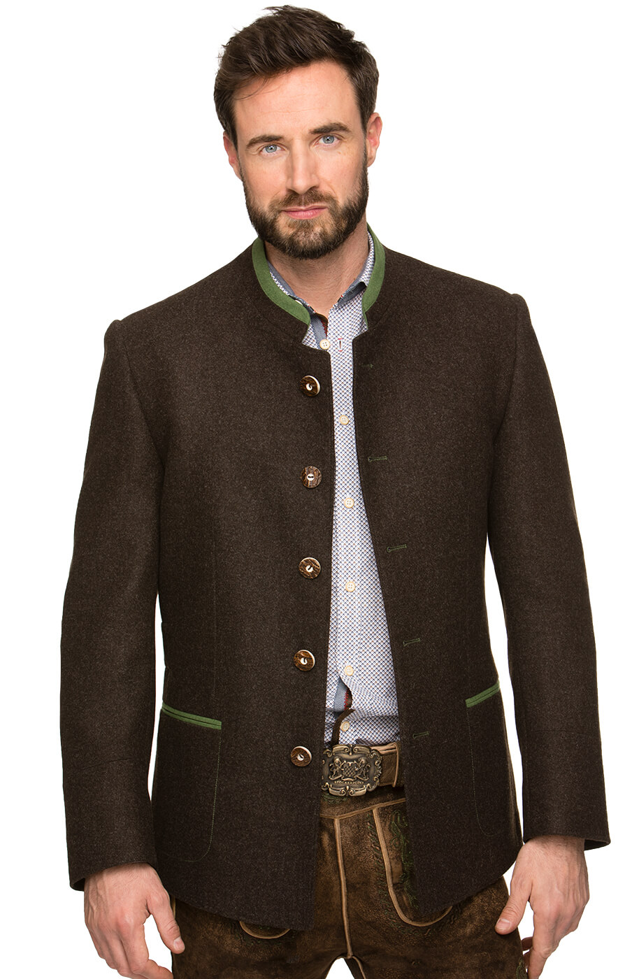 German traditional jacket MAXIMILIAN brown von Stockerpoint