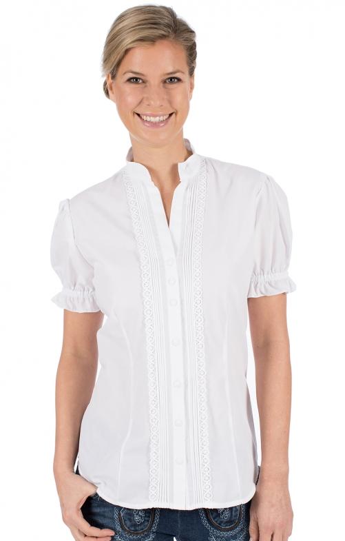 Traditional blouse IRMI white