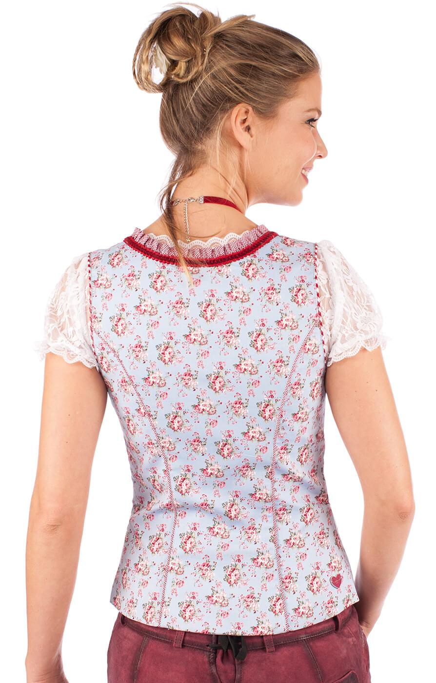 weitere Bilder von Traditional dirndl corsage 32540-809 blue