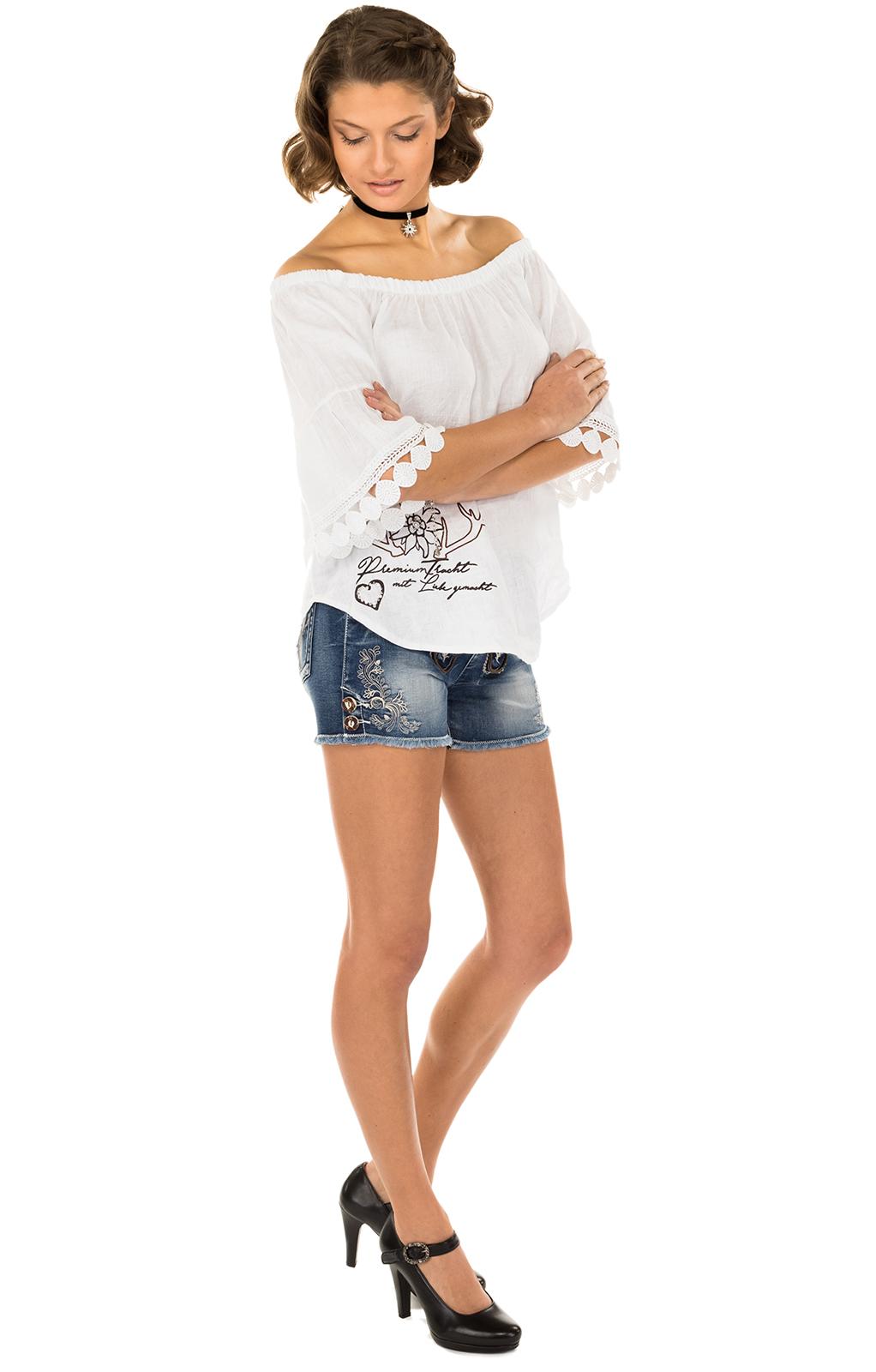 weitere Bilder von Traditional blouse MILA-Twhite