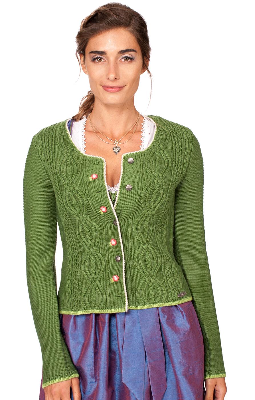 Traditional Cardigan Fancy green von Spieth & Wensky