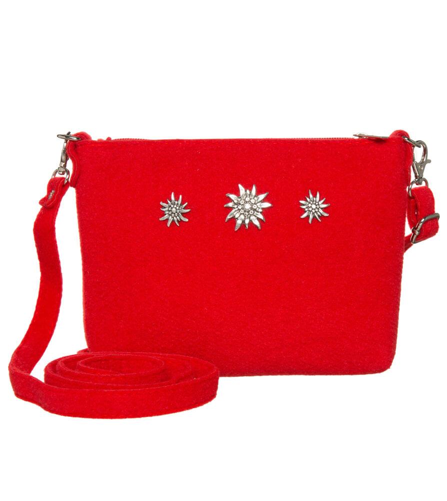 Traditional dirndl bag TA22590-3EDW red von Schuhmacher