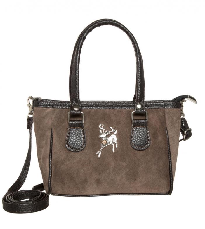 Traditional dirndl bag TA30880-1136 greybrown