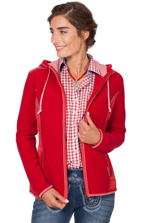 Traditional Jacket Friesland red