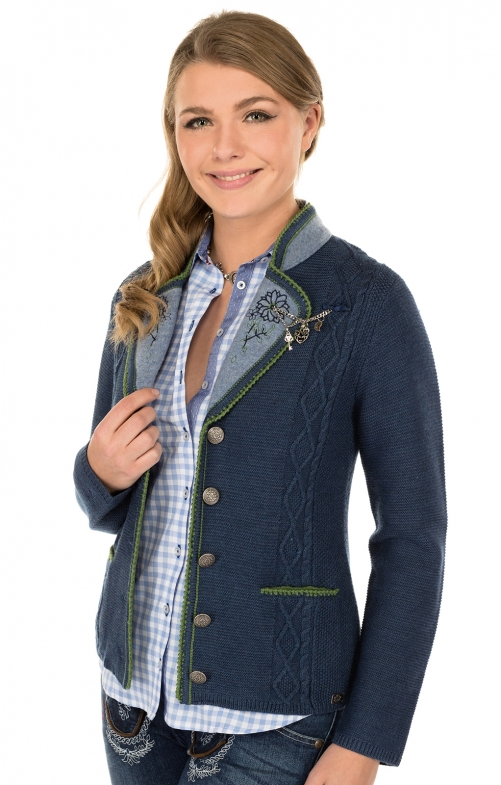 Trachten Jacket blue