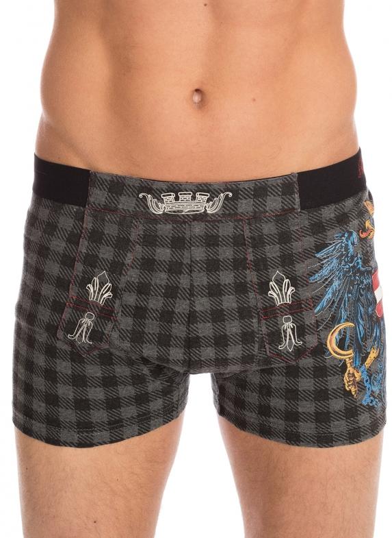 Traditional boxershort men 2er/set 94680-44 gray
