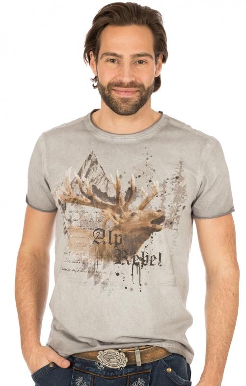 Traditional German T-Shirt ALPREBELL black